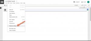انتحاب جیپییو در محیط گوگل کولب