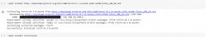 نصب کتابخانهها در محیط گوگل کولب